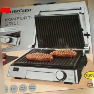 3 in 1 Komfortgrill -Grillen-Toasten-Überbacken,2000...