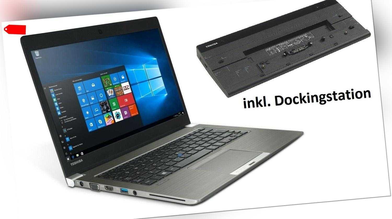 """Toshiba Portege Z30 Notebook13,3"""" Display i5-4310U 8GB RAM 256GB SSD Win10"""