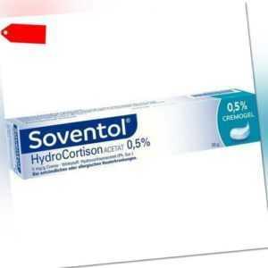 SOVENTOL Hydrocortisonacetat 0,5% Creme 30 g 10714367