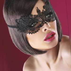 🔥GESCHÄFTSAUFGABE📣 Mask Black 12 Augenmaske Venezianisch Spitze Schwarz Gothic