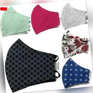 Behelfsmaske Maske Mundbedeckung Mundschutz Community Alltagsmaske waschbar WoW