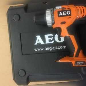 AEG Akku-Kompakt-Schrauber BS 14 G /0 ohne Koffe