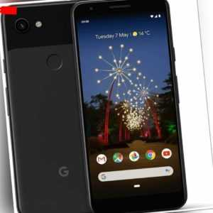 Google Pixel 3a 4GB/64GB Smartphone - Just Black -  Nagelneu...