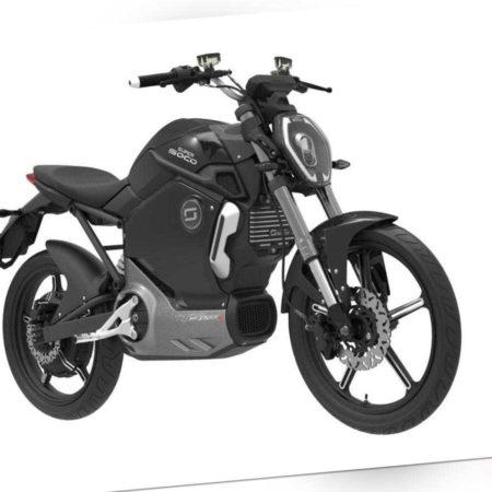 E Motorrad SUPER SOCO TS 45kmh bis 160km E-Moped E-Scooter ...
