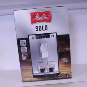 Melitta Solo E 950-222 Kaffeevollautomat Pure Black Neuware