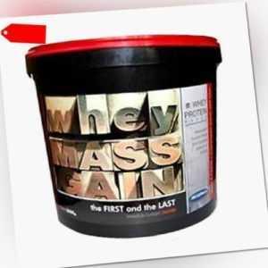 3000g WHEY MASS GAIN - Whey Protein, Gainer, Eiweiß - Muskelaufbau BONUS