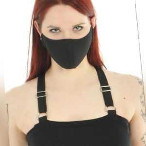 Re-Agenz Gesichtsmaske Oxygenium schwarz