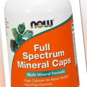 Now Foods, Full Spectrum Mineral, Multi Mineral Formula, 240 Kapseln
