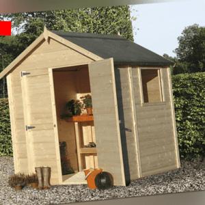 Gartenhaus Holzhaus Blockhaus Gerätehaus Geräteschuppen Holz Gartenschuppen