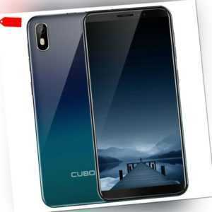 """Cubot J5 5.5"""" 3G Handy Ohne Vertrag Smartphone Android 9.0 2GB 16GB Face ID 2SIM"""