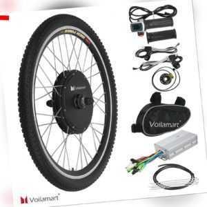 "Vorderrad 26"" Elektro Ebike Conversion Kit 48V 1000W Elektrofahrrad Umbausatz"