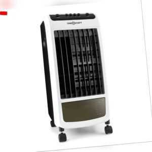 Mobiler Ventilator Luftkühler Klimagerät Aircooler Raumklima Lufterfrischer weiß