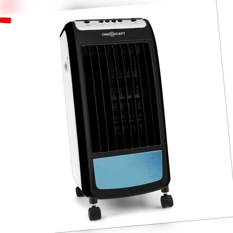 Mobiler Ventilator Luftkühler Klimagerät Aircooler Klima Lufterfrischer schwarz