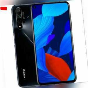 Huawei Nova 5T YAL-L21 128GB Black Schwarz Ohne Simlock Dual SIM...