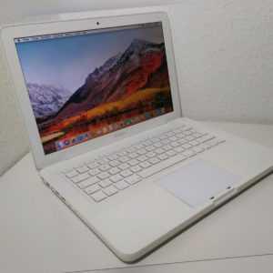"""Apple MacBook 13"""" 5GB RAM 250GB macOS High Sierra Mitte Mid 2010 Laptop 2,4 Ghz"""