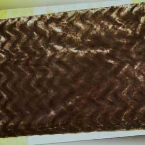 Meradiso in Pelzoptik Kuscheldecke Wohndecke braun 150 x 200cm