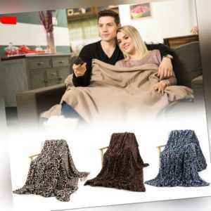 Crystal Plüsch Sofa Leopardenmuster Decke Heimgebrauch Kaninchen