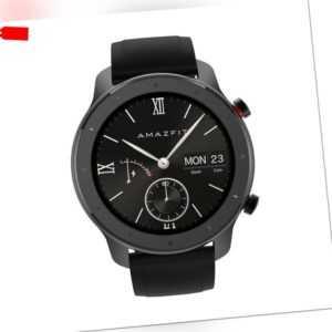 Amazfit GTR Lite 47mm Smartwatch 5ATM Wasserdicht Sportuhr 8 Sportmodi Fitness