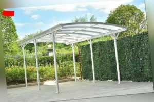 HOME DELUXE Carport Überdachung Abstellplatz Aluminium Garage Alu Pavillon