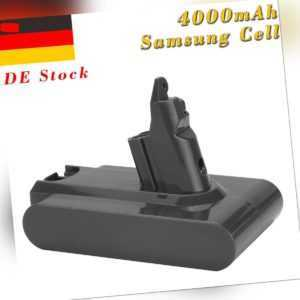 21.6V 4000mAh Akku für Dyson V6 DC58 DC59 DC61 DC62  D72 DC74 Animal BC683 SV03
