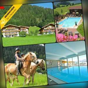 Kurzurlaub Salzburger Land 5 Tage 2+2 Personen Ferienwohnung inkl. Reitstunden