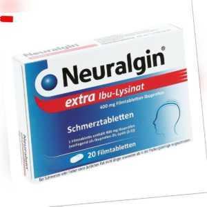 Neuralgin extra Ibu-Lysinat 20stk PZN 09042974