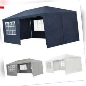 Partyzelt Pavillon Gartenzelt Gartenpavillon Festzelt Gazebo 3x6 m ArtLife®