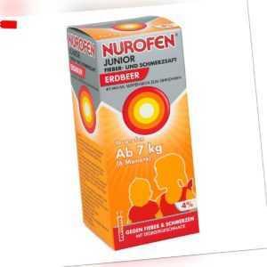 NUROFEN Junior Fieber- & Schmerzsaft Erdbeer 150ml PZN 12741888