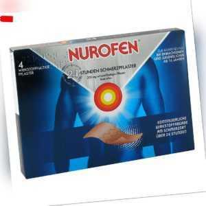 Nurofen 24-stunden Schmerzpflaster 200 mg 4stk PZN 06586975