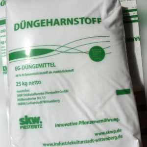 Harnstoffdünger Düngeharnstoff 25 kg Harnstoff 46 % N Stickstoff spritzfähig