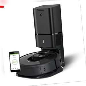 iRobot Roomba i7558 Premium Saugroboter automatische Absaugstation Alexa App