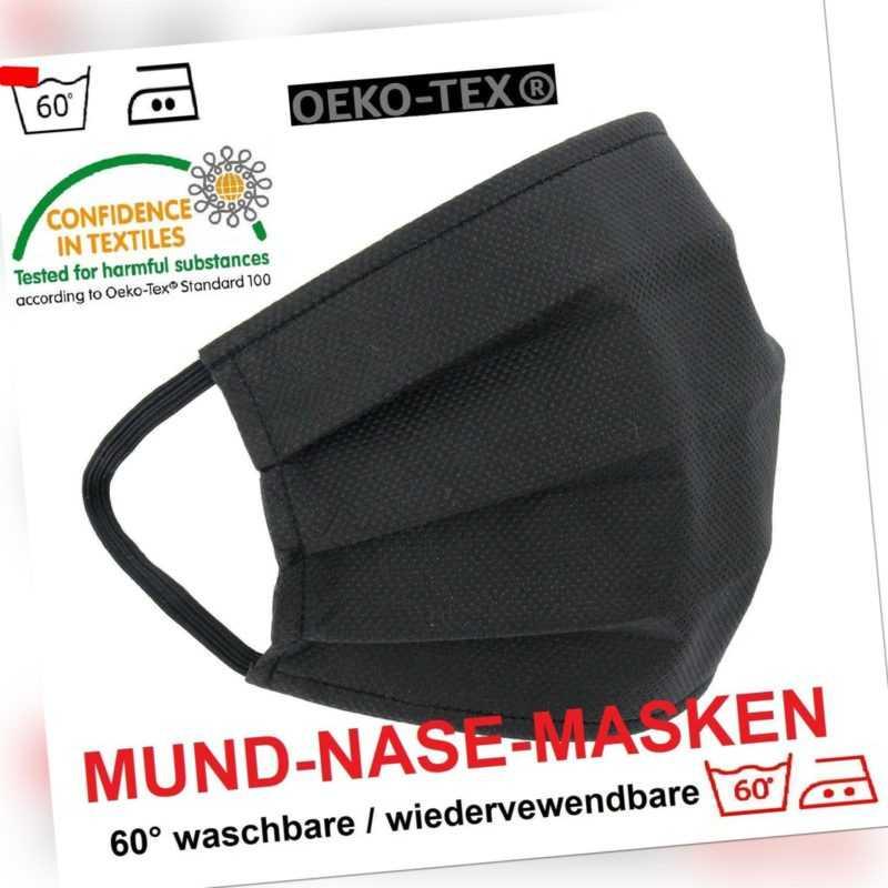3-lagig Maske MundMaske NoseMaske Mundschutz Waschbar Wiederverwendbar 60 Grade