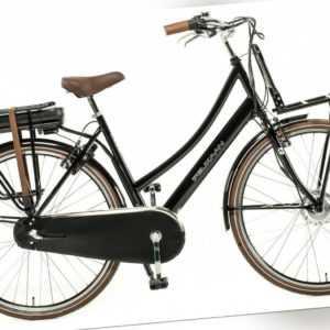 Hollandrad E-Bike Damen 28 Zoll 53cm Schwarz Elektrofahrrad Ebike E Fahrrad Neu