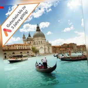 Kurzreise Venedig Mestre 3 - 5 Tage 2 Pers. Frühstück inkl 2 Kids Hotelgutschein