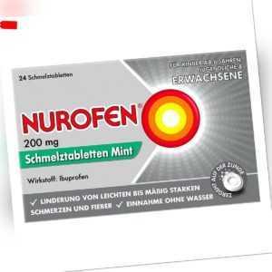 Nurofen 200 mg Schmelztabletten Mint 24stk PZN 11128051
