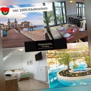 4 Tage Urlaub auf Rügen im Parkhotel Putbus mit Halbpension