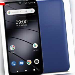 "Gigaset GS110 DualSim Azure Blau 16GB LTE Android Smartphone 6,1""..."