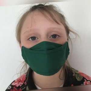 Mundmaske Stoffmaske Gesichtmaske Mundbedeckung Behelfsmaske Baumwolle 63 Farben