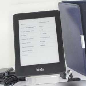 *TOP*  Amazon Kindle 5. Generation Paperwhite WiFi B024*** EY21 +orig. Case Blau