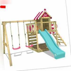 WICKEY Spielturm Klettergerüst Smart Candy Stelzenhaus Baumhaus Scha