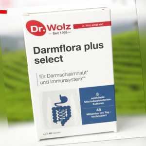 Darmflora plus select Dr. Wolz   48 Mrd. Bakterienkulturen/Tag (1162,50 EUR/kg)