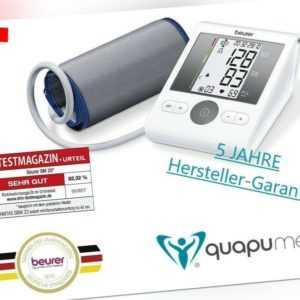 beurer BM28 Automatisches Oberarm Blutdruckmessgerät Universalmanschette 22-42cm
