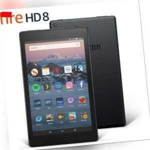 Amazon Fire HD 8 Tablet, 16 GB, Schwarz, 8. Geneartion Tablet mit Alexa