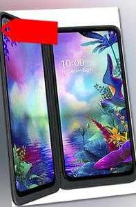 "LG G8X DualSim schwarz 128GB inkl. 2. Display LTE Android Smartphone 6,4"" 12 MPX"