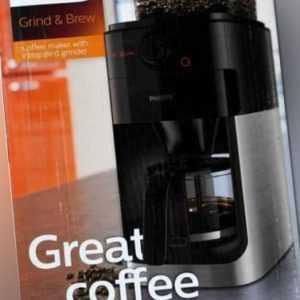 Philips HD7767/00 Grind & Brew Kaffeemaschine-...