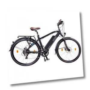 "NCM Venice Plus 28"" Trekking E-Bike 48V 16Ah 768Wh Panasonic Zellen Akku schwarz"