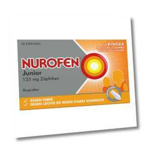 Nurofen Junior 125mg 10stk PZN 04660785