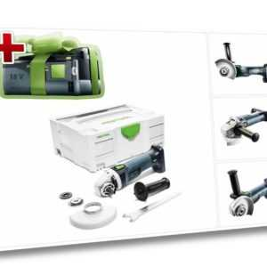 Jetzt mit GRATIS AKKU: Festool AGC 18-125 Li EB-Basic Akku Winkelschleifer 125mm