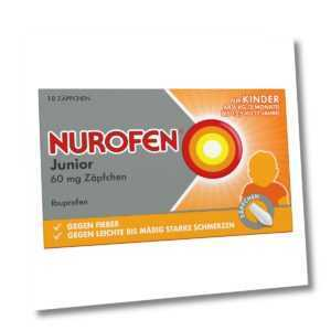 Nurofen Junior 60mg 10stk PZN 04085246