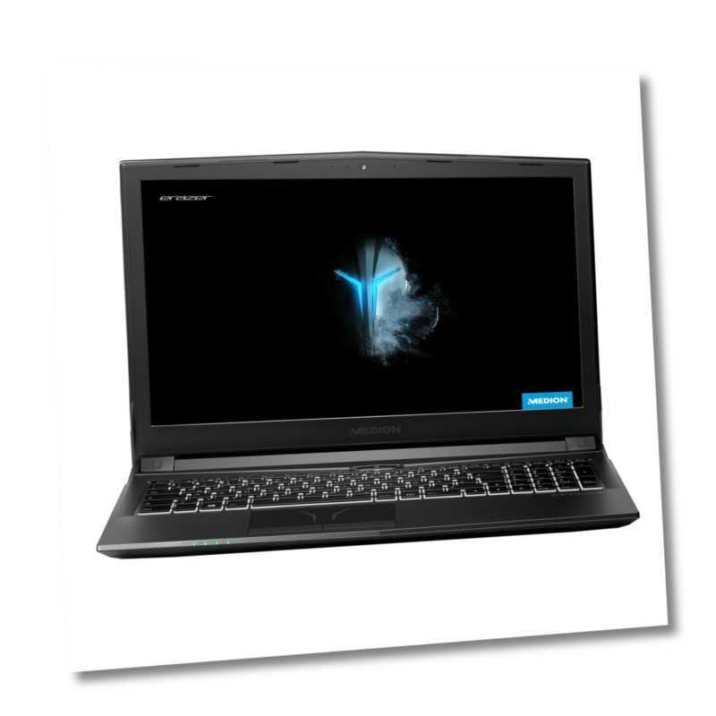 """MEDION ERAZER P6605 Gaming Notebook 39,6cm/15,6"""" i5 8. Gen 256GB SSD 1TB 16GB"""